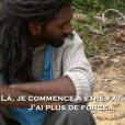 """Brahma abandonne - ""Koh-Lanta Cambodge"". Sur TF1, le 14 avril 2017."""