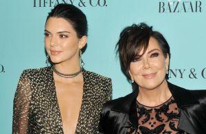 Kendall Jenner, divine complice avec sa mère Kris Jenner qui ose la transparence