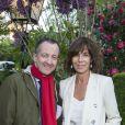 Christophe Barbier et Christine Orbanlors de la remise du 10ème Prix de la Closerie des Lilas. Paris, le 19 avril 2017. © Olivier Borde/Bestimage