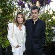 Carole Chrétiennot et Benjamin Biolaylors de la remise du 10ème Prix de la Closerie des Lilas. Paris, le 19 avril 2017. © Olivier Borde/Bestimage