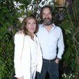 Carole Chrétiennot et Frédéric Beigbederlors de la remise du 10ème Prix de la Closerie des Lilas. Paris, le 19 avril 2017. © Olivier Borde/Bestimage