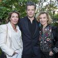 Carole Chrétiennot, Benjamin Biolay et Emmanuelle de Boyssonlors de la remise du 10ème Prix de la Closerie des Lilas. Paris, le 19 avril 2017. © Olivier Borde/Bestimage