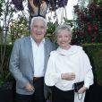 Miroslav Siljegovic et sa femme Colettelors de la remise du 10ème Prix de la Closerie des Lilas. Paris, le 19 avril 2017. © Olivier Borde/Bestimage