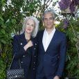 Tatiana de Rosnay et son mari Nicolas Jollylors de la remise du 10ème Prix de la Closerie des Lilas. Paris, le 19 avril 2017. © Olivier Borde/Bestimage