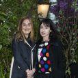 Jessica Nelson et Alexandra Lemassonlors de la remise du 10ème Prix de la Closerie des Lilas. Paris, le 19 avril 2017. © Olivier Borde/Bestimage