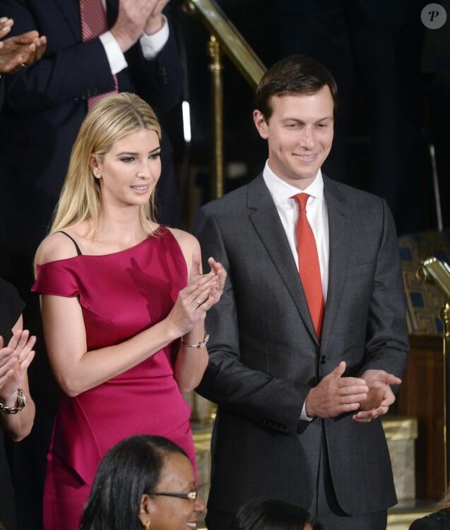 Jared Kushner et Ivanka Trump au Congrès. Washington, le 28 février 2017.