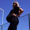Ciara enceinte : Prête à accoucher, elle dévoile son impressionnant baby bump !