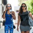 Exclusif - Melanie Brown (Mel B) avec ses filles Angel Iris Murphy Brown et Madison Belafonte à Double Bay à Sydney le 15 novembre 2016
