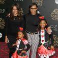 Melanie Brown (Mel B) et ses filles Angel Iris Murphy Brown et Madison Belafonte à la première de 'Alice Through The Looking Glass' au théâtre El Capitan à Hollywood, le 23 mai 2016