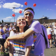 Megan Ramsay lors de la Color Run, janvier 2017. Instagram Megan Ramsay.