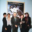 Thandie Newton, Christine Boisson, Jonathan Demme et Anna Karina à Paris en 2003