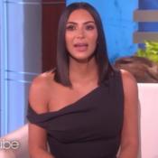 """Kim Kardashian, en larmes, évoque son braquage : """"Cela devait m'arriver"""""""