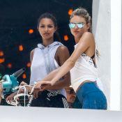 Victoria's Secret : Les Anges Lais et Martha s'exercent avant l'été !