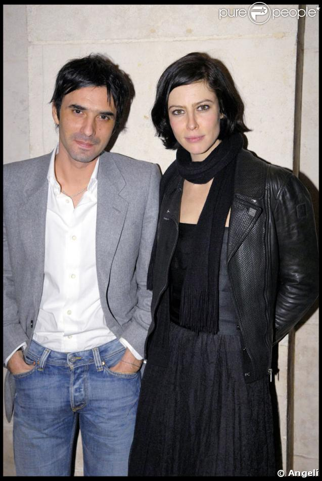 Anna Mouglalis couple