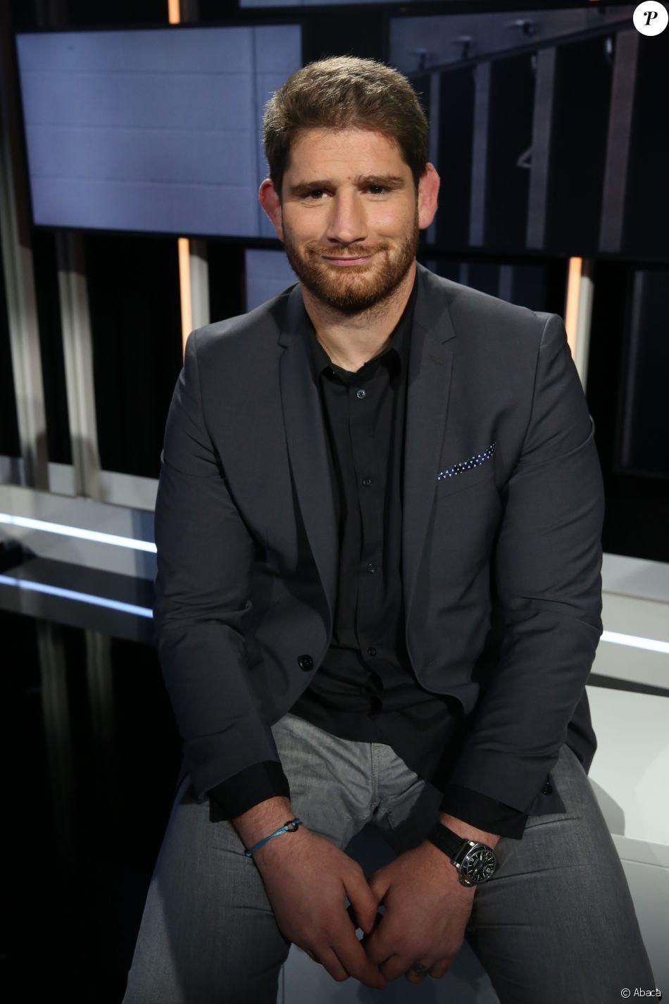 Pascal Papé sur SFR Sport 1 TV, Paris, le 7 octobre 2016.