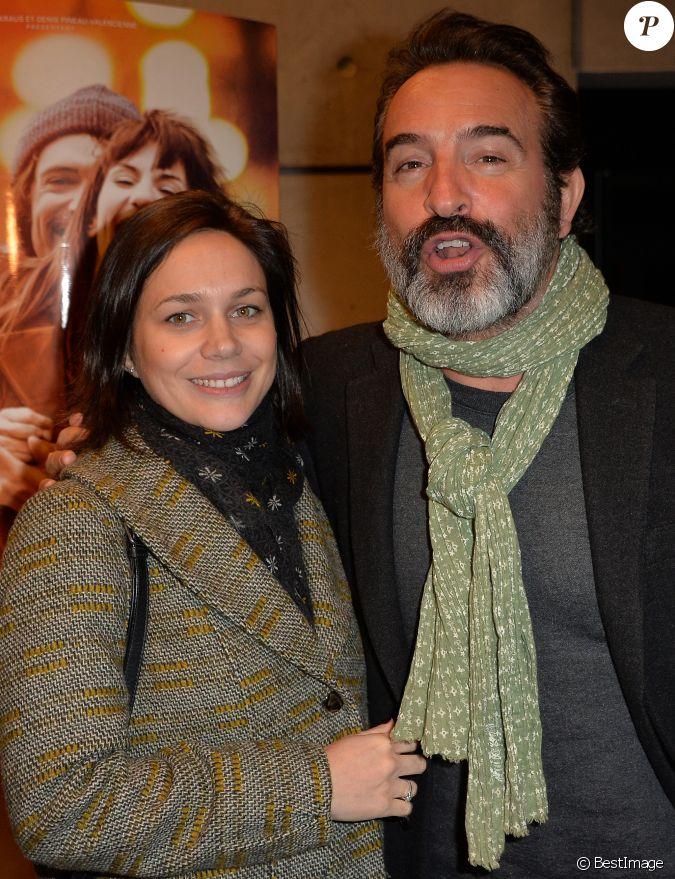 Jean dujardin et sa compagne nathalie p chalat avant for Compagne de jean dujardin