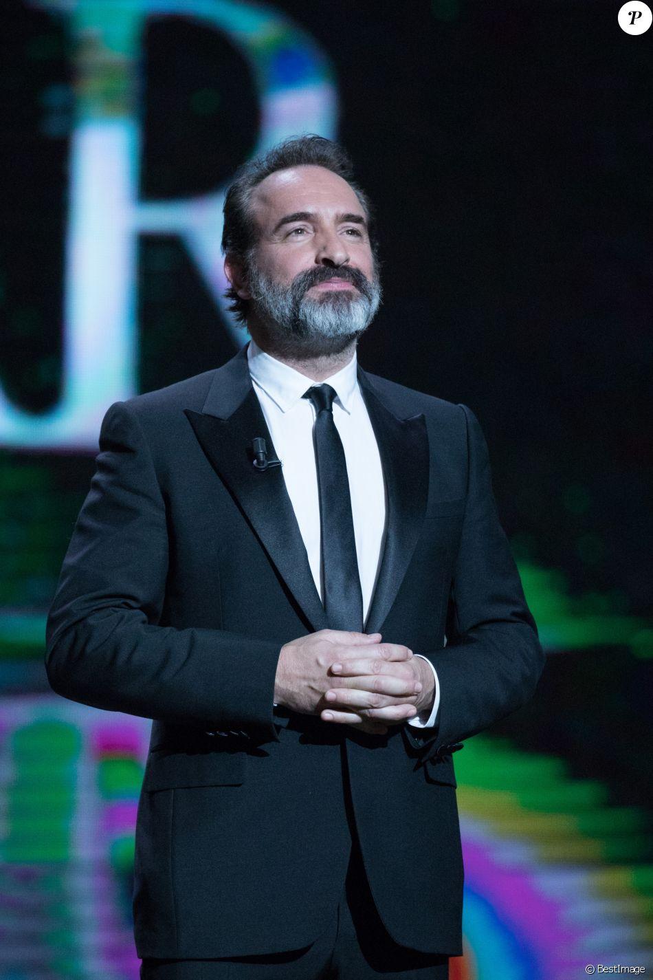 Jean dujardin 42e c r monie des c sar la salle pleyel for Jean dujardin 2017