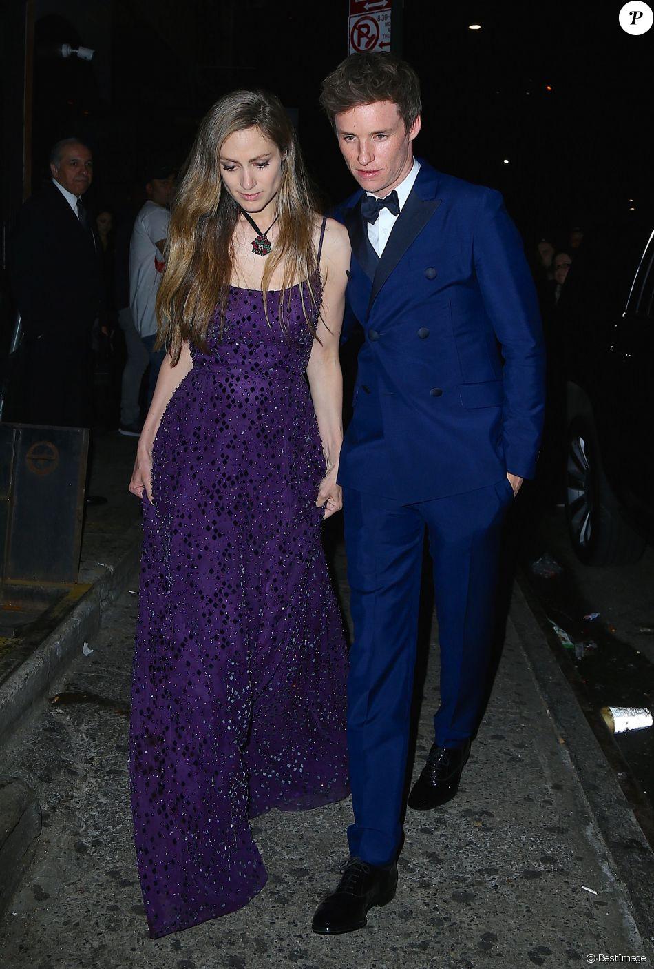 Hannah Bagshawe et son mari Eddie Redmayne au 1 OAK à New York, le 1er mai 2017 © Morgan Dessalles/Bestimage