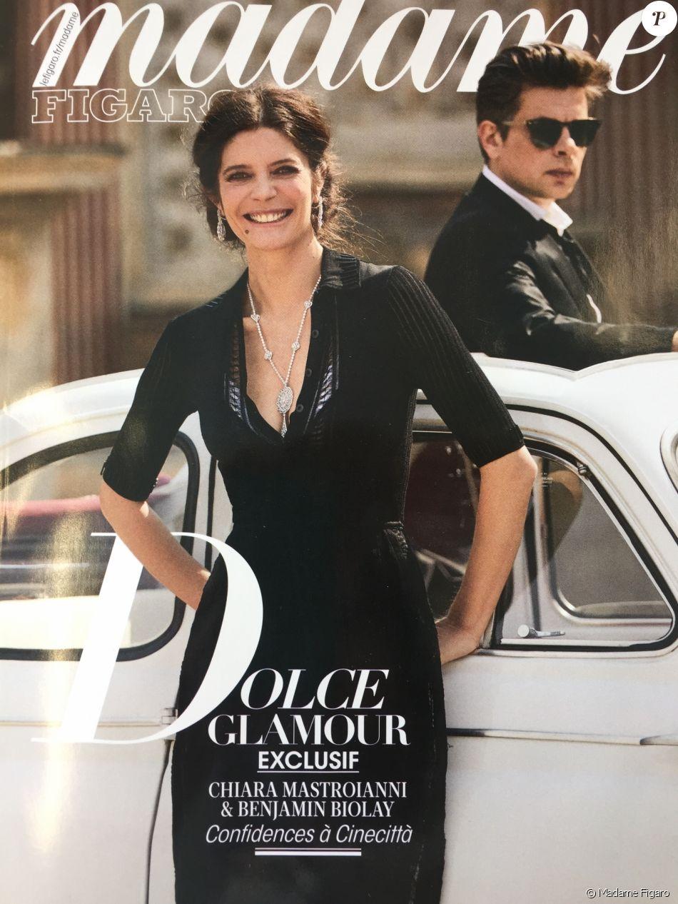 Couverture du magazine Madame Figaro, numéro du 5/6 mai 2017.