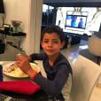Le fils de Cristiano Ronaldo, Cristiano Jr. (Cristianinho), photo Instagram du 31 mars 2016