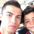 Cristiano Ronaldo et son fils Cristiano Jr. (Cristianinho), photo Instagram du 26 mars 2017