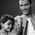 Cristiano Ronaldo et son fils Cristiano Jr. (Cristianinho), photo Instagram du 1er mars 2017