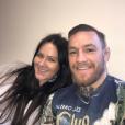 Conor McGregor et sa compagne Dee Devlin ont accueilli leur premier enfant le 5 mai 2017 à Dublin, Conor (Jr.) Jack McGregor. Photo Instagram une semaine avant l'accouchement.