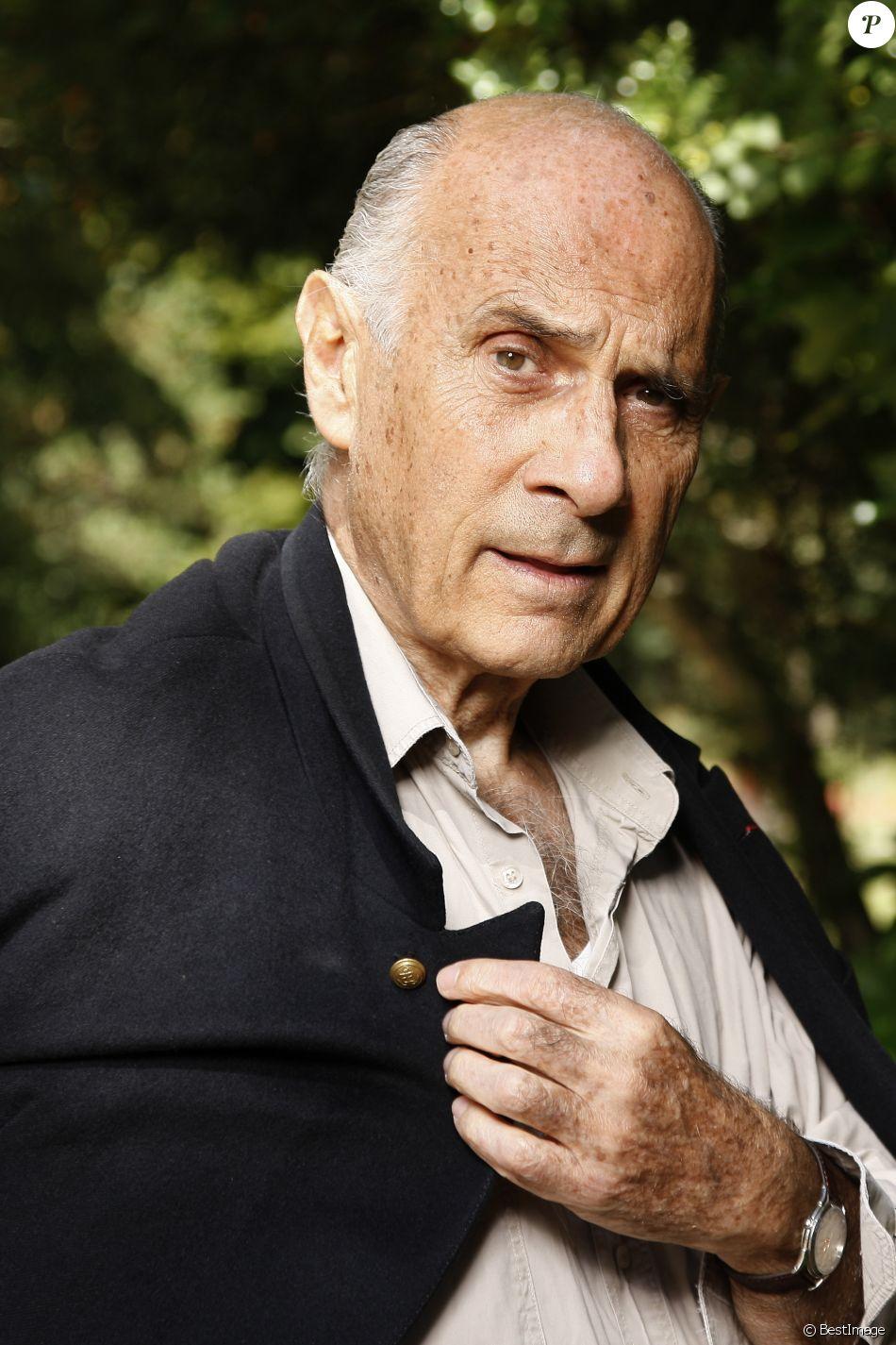 Portrait de Guy Marchand à Paris le 31 août 2014