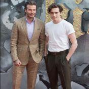 David Beckham : Moqué, il se console avec son fils Brooklyn et le Roi Arthur