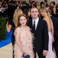 Julianne Moore et Raf Simons - Met Gala 2017 à New York, le 1er mai 2017 © Christopher Smith/AdMedia via Zuma/Bestimage