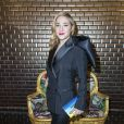 """Marilou Berry - People au défilé de mode Haute-Couture printemps-été 2017 """"Jean-Paul Gaultier"""" à Paris le 25 janvier 2017. © Olivier Borde/Bestimage"""