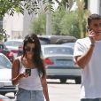 Kourtney Kardashian et Younes Bendjima se baladent dans les rues de West Hollywood le 2 mai 2017