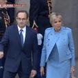 Brigitte Macron (Trogneux) - La famille d'Emmanuel Macron arrive au palais de l'Elysée à Paris le 14 mai 2017 pour la cérémonie d'investiture du nouveau président.