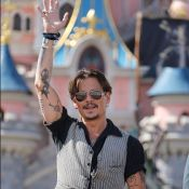 Johnny Depp et Orlando Bloom, pirates au top à Disneyland Paris