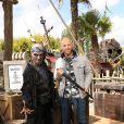 Franck Gastambide lors de l'avant-première du film Pirates des Caraïbes 5 au parc Disneyland Paris, le 14 mai 2017.