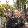 Eric Judor lors de l'avant-première du film Pirates des Caraïbes 5 au parc Disneyland Paris, le 14 mai 2017.