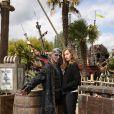 Cécile de France lors de l'avant-première du film Pirates des Caraïbes 5 au parc Disneyland Paris, le 14 mai 2017.