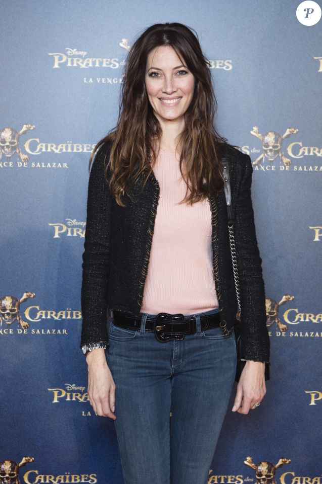 Maréva Galanter lors de l'avant-première du film Pirates des Caraïbes 5 au parc Disneyland Paris, les 13 et 14 mai 2017.