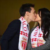 Louis Ducruet et Marie, plus amoureux que jamais devant l'AS Monaco couronnée