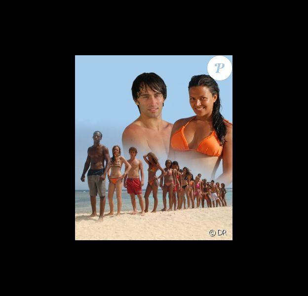 Émilie Minatchy (Star Ac' 4) et Lukas Delcourt (Star Ac'3) dans la Baie des Flamboyants