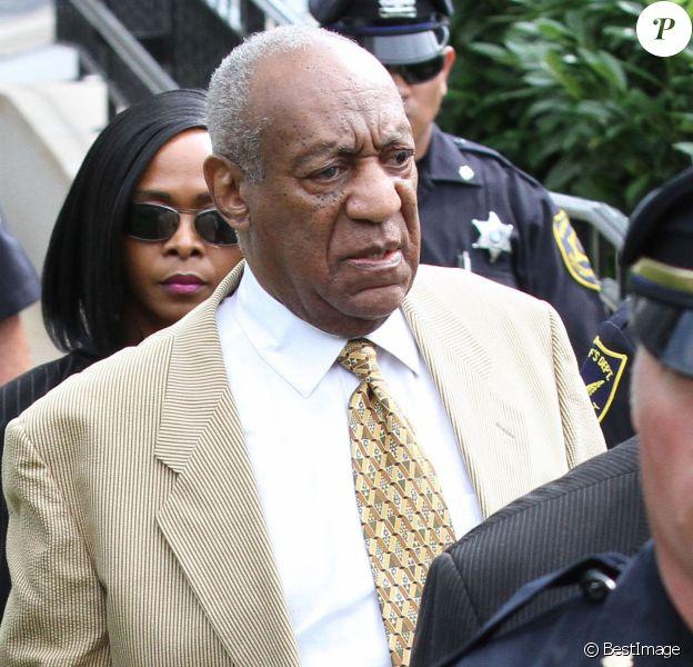 Bill Cosby à la sortie du tribunal Montgomery en Pennsylvanie, le 7 juillet 2016.
