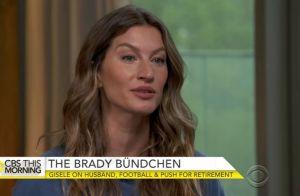 Gisele Bündchen : Inquiète pour la santé de Tom Brady, elle se fait recadrer