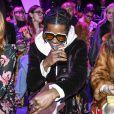 """""""Florence Welch, A$AP Rocky et Hari Nef à Milan. Le 22 février 2017."""""""