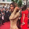 """""""Sarah Lopez au Festival de Cannes 2017, le 18 mai."""""""