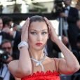 "Bella Hadid (robe Christian Dior, bijoux Bulgari) - Montée des marches du film ""Okja"" lors du 70e Festival International du Film de Cannes. Le 19 mai 2017. © Borde-Jacovides-Moreau / Bestimage"