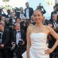"""Carmen Chaplin (Habillée en Maison Paule Ka) - Montée des marches du film """"Okja"""" lors du 70ème Festival International du Film de Cannes. Le 19 mai 2017. © Borde-Jacovides-Moreau/Bestimage"""