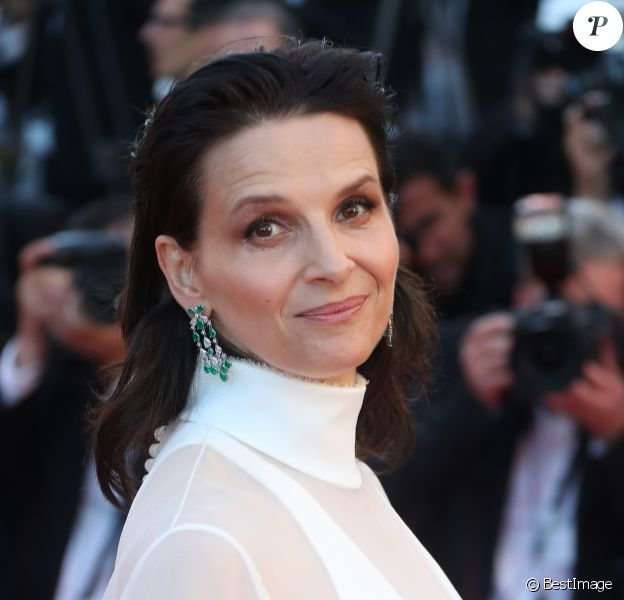 """Juliette Binoche - Montée des marches du film """"Okja"""" lors du 70ème Festival International du Film de Cannes. Le 19 mai 2017. © Borde-Jacovides-Moreau / Bestimage"""