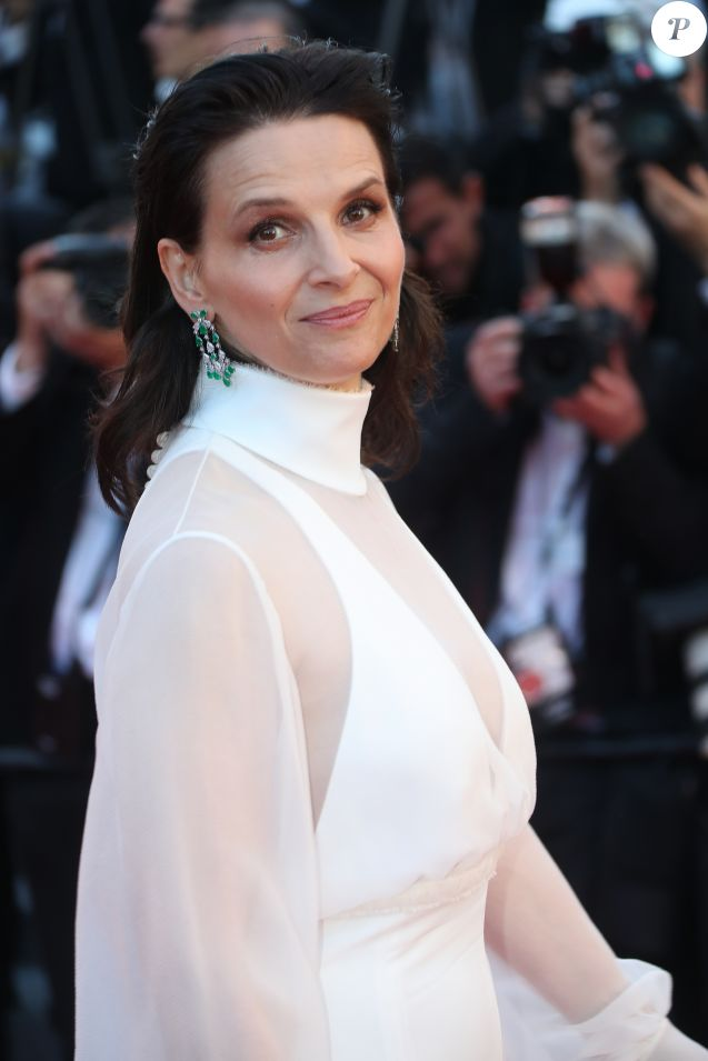 "Juliette Binoche - Montée des marches du film ""Okja"" lors du 70ème Festival International du Film de Cannes. Le 19 mai 2017. © Borde-Jacovides-Moreau / Bestimage"