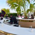 """Illustration - Soirée de gala """"The Harmonist"""" au Club Albane lors du 70ème Festival International du Film de Cannes, France, le 22 mai 2017. © Giangarlo Gorassini/Bestimage"""