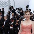 Kristin Scott Thomas (en robe Dior) -Montée des marches de la soirée du 70ème anniversaire du Festival de Cannes. Le 23 mai 2017. © Borde-Jacovides-Moreau / Bestimage